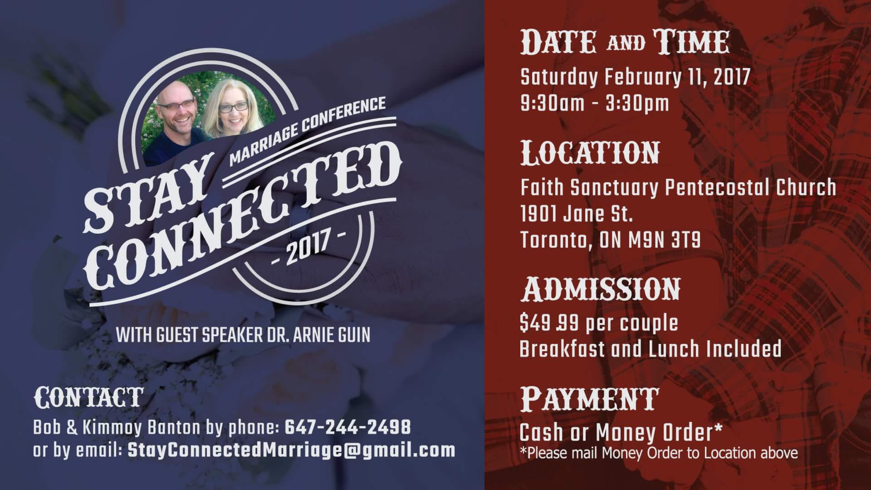 faith couples conference