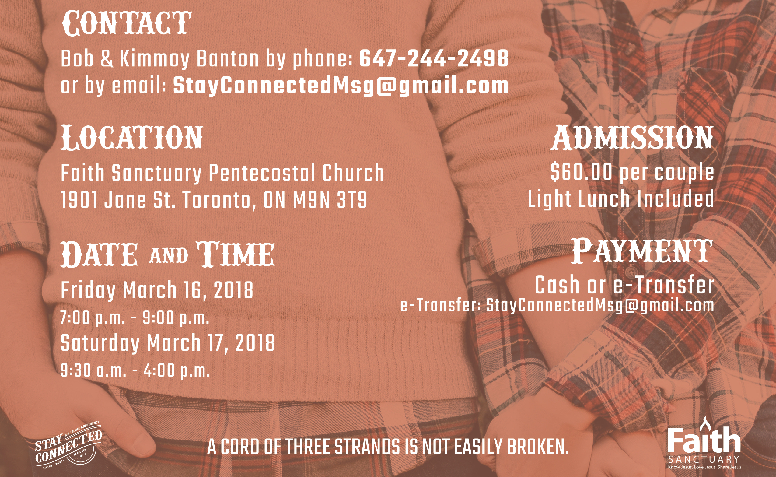 Stay Connected Details
